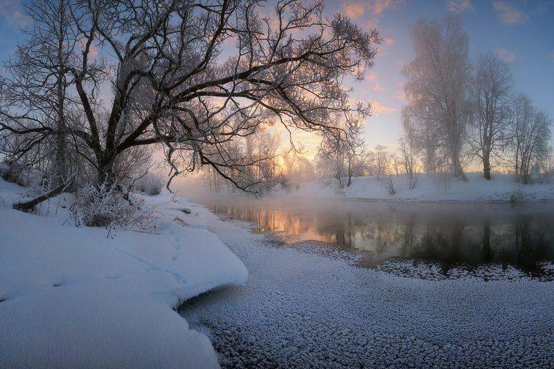 Зимняя речкаphoto preview