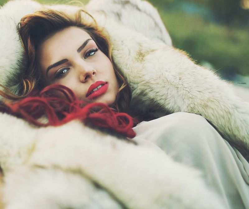 #beauty #photo #natural #light #outside #red # lips #hair #popular #portrait #sigma #art  Марияphoto preview