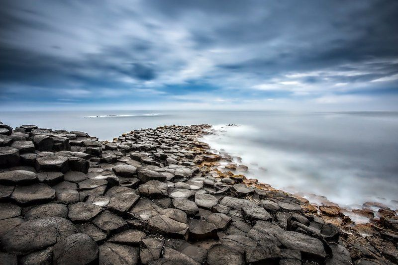 Giant\'s Causeway, Ireland, Long exposure, Northern Ireland, Sunrise, Lee,  Giant\'s Causewayphoto preview