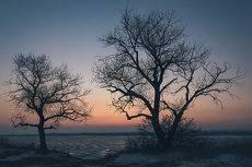 Ещё зимний закат