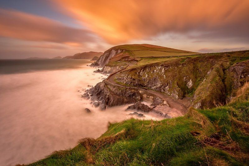 Slea Head, Ireland, Galway, Kerry, Dingle, Long exposure, longexposure, seascapes, landscapes, lee Slea Headphoto preview