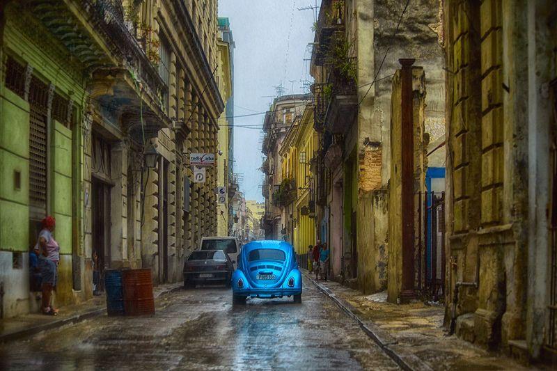 куба, гавана В Гаване идут дождиphoto preview