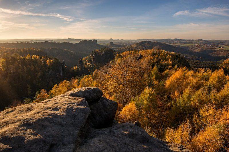 Germany, Saxon Switzerland, autumn, light, europe, travel, beautiful, beautiful place, rocks, Saxony,  Saxon Switzerland - Germanyphoto preview
