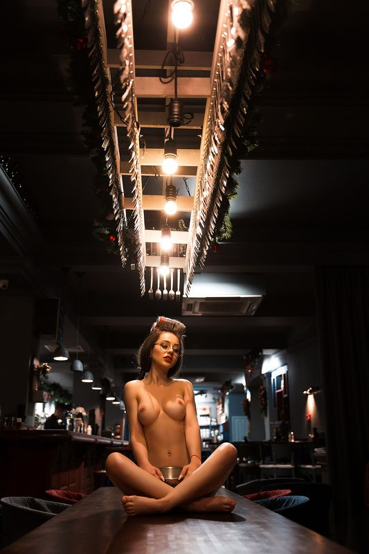 nude, art, girl, maerspro Готовим соус с Беллойphoto preview