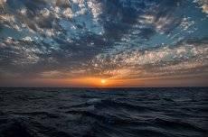 Закат Средиземка.