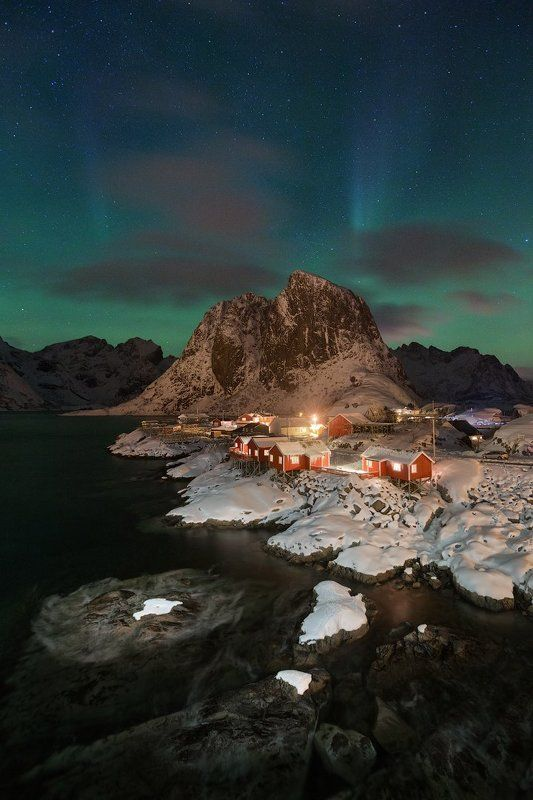 Hamnøya auroraphoto preview