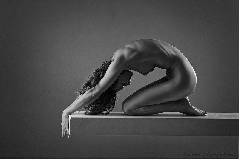 женщина, ню, тело, пластика, монохром Каплей воды....photo preview