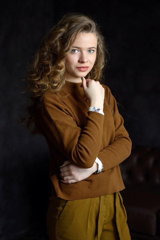 portrait, портрет, 85mm Аннаphoto preview