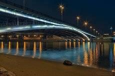 Ночь у моста.