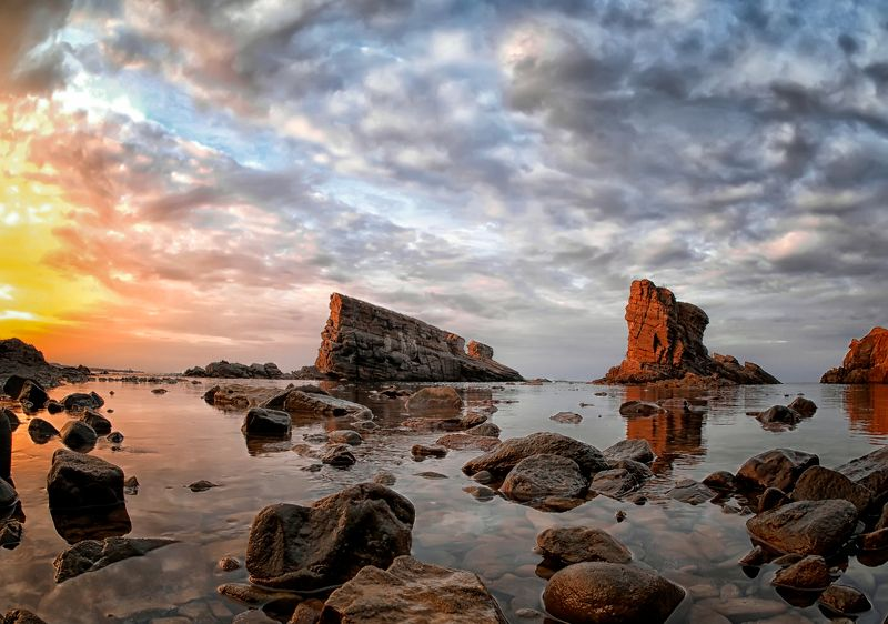 The Petrified Ships At Sunsetphoto preview