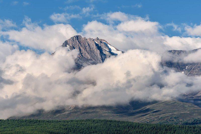 алтай, горы, счх, облака, altai, mountains, clouds В облаках...photo preview