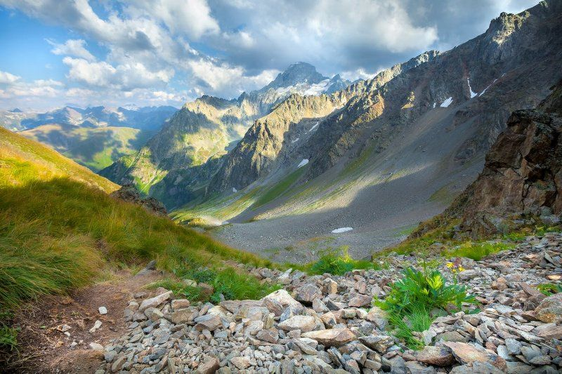 иркиз, перевал, архыз, кавказ, карачаево-черкесия Перевал Иркизphoto preview