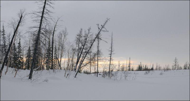 Таймыр,март,природа Воскресный пасмурный деньphoto preview