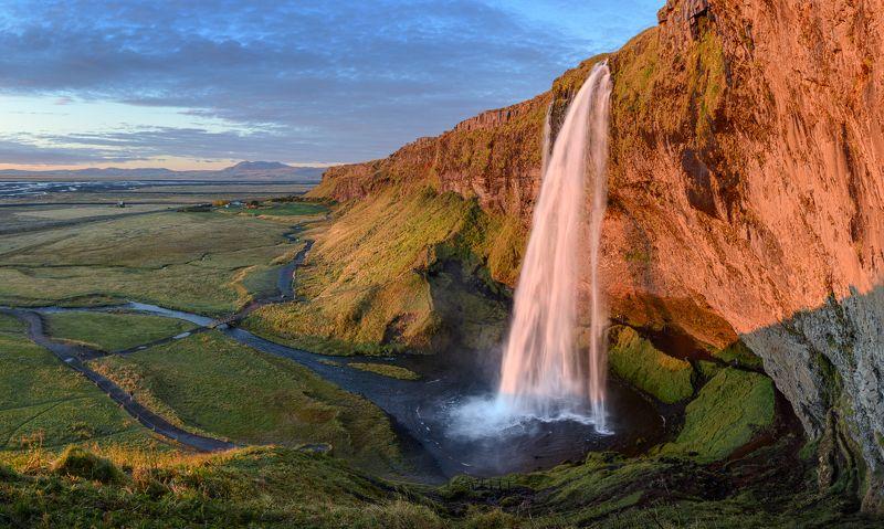 исландия, iceland Seljalandsfossphoto preview