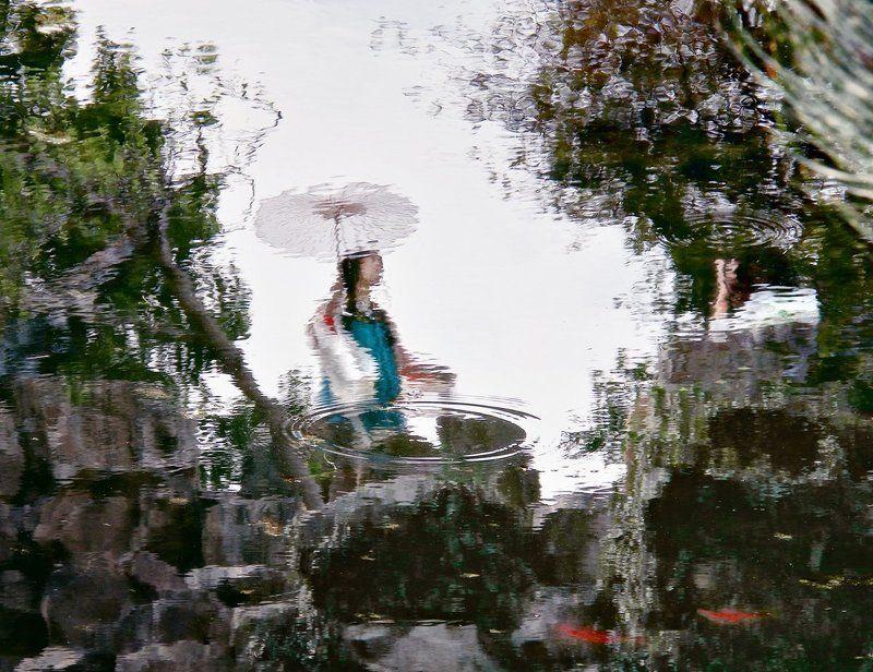 Китайский сад...photo preview
