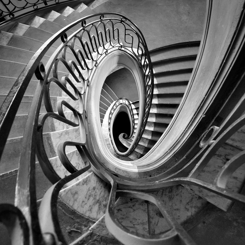 staicase, architecture, interior, depth, geomery, paris, abstract Игры разумаphoto preview