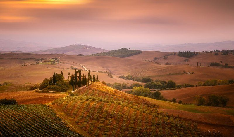 Tuscany, Italy, Sunrise, Sunset, Lee, Hitech, Longexposure, Long exposure, Clouds, Fog Tuscanyphoto preview