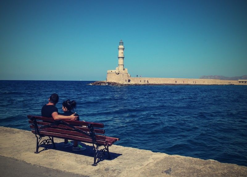crete, clouds, sky landscape, tourism, travel, harbour, venetian, colorful, chania, greece Darling, look!photo preview