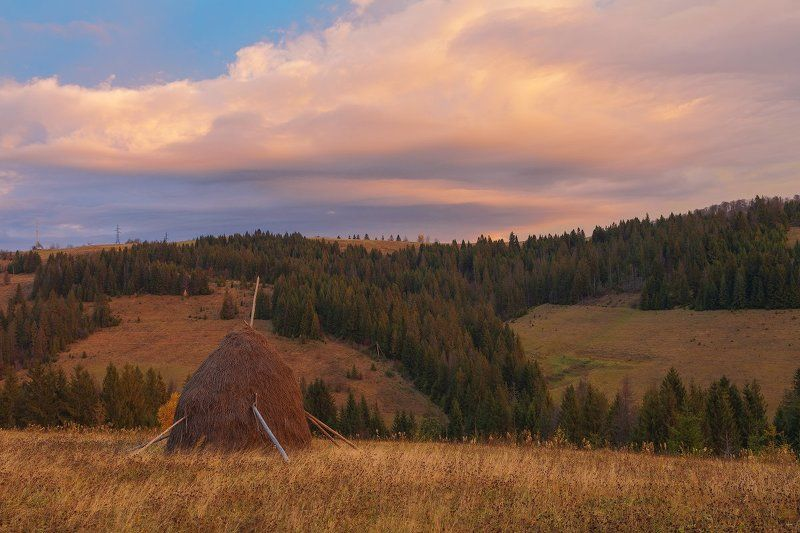 осень горы карпаты рассвет ОСЕНЬЮ...photo preview