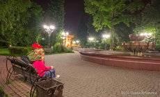 Ночные прогулки по Горно-Алтайску.