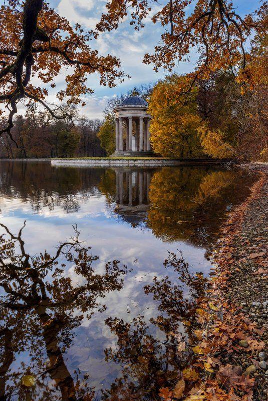 autumn, munich, landscape photo preview