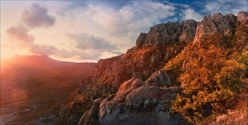 Крым, осень, Демерджи Про Демерджи и золотую осеньphoto preview