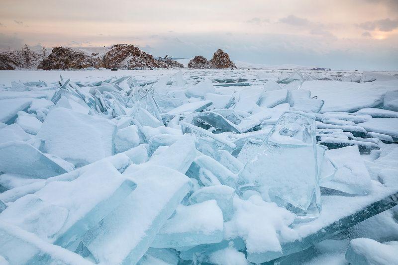 Байкал, лед, Ольхон Торосыphoto preview