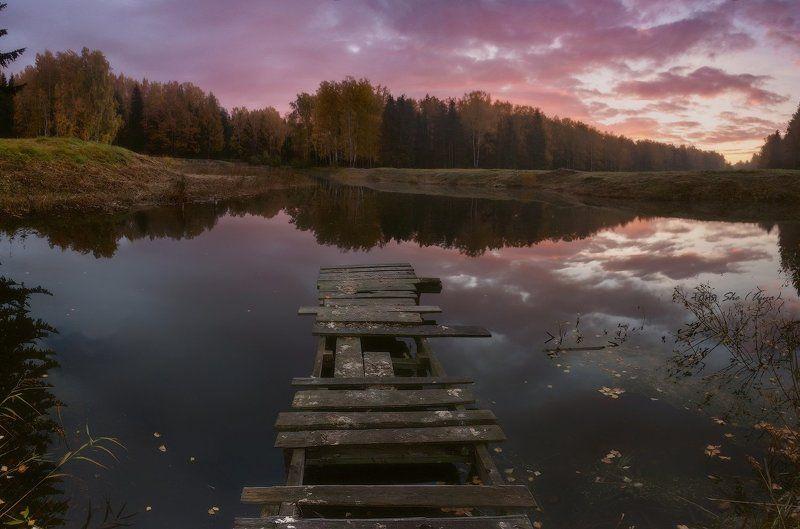 Осень, Павловск, Павловский парк, Питер, Рассвет, Санкт-петербрг Была осень....photo preview