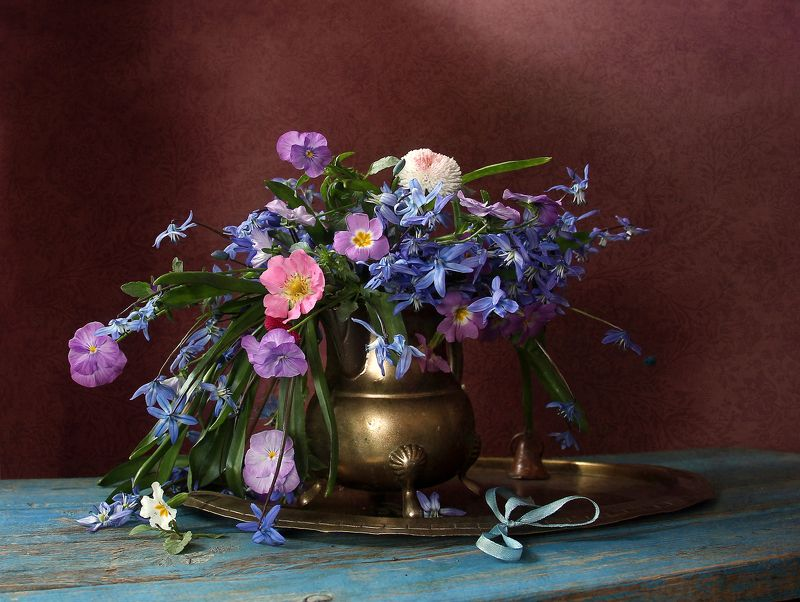 натюрморт, цветы, марина филатова Весны чарующие звуки...photo preview