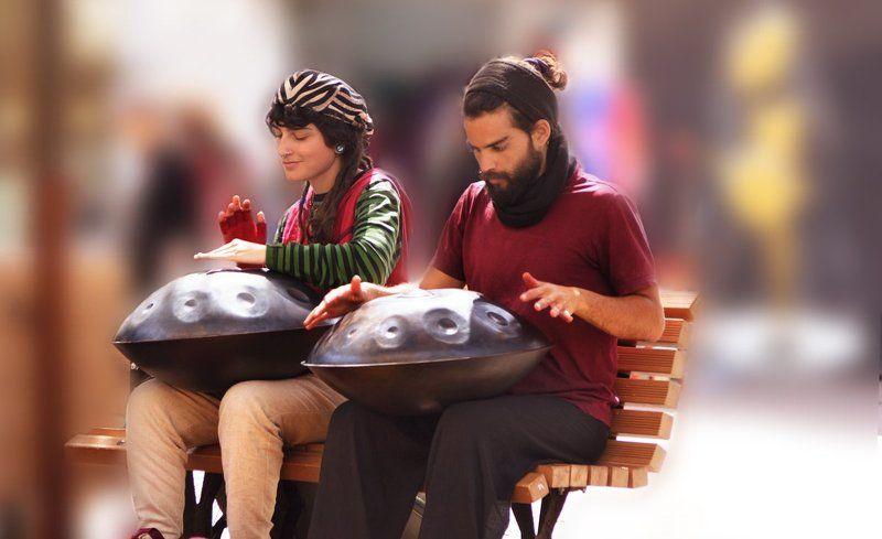 Уличные музыкантыphoto preview