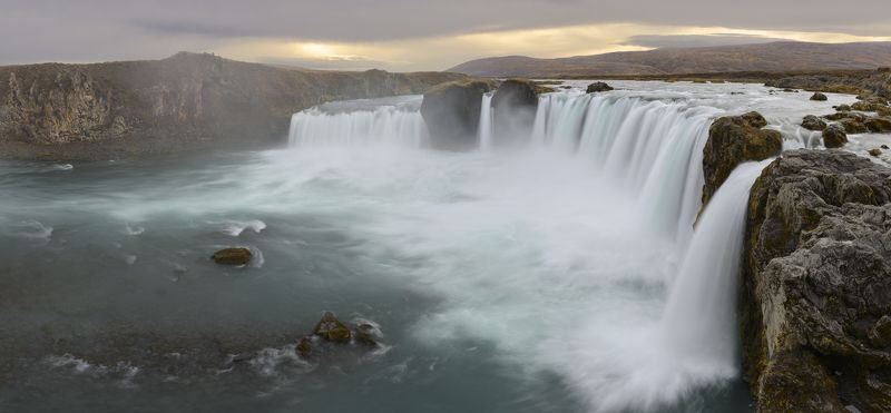 iceland, исландия Godafossphoto preview
