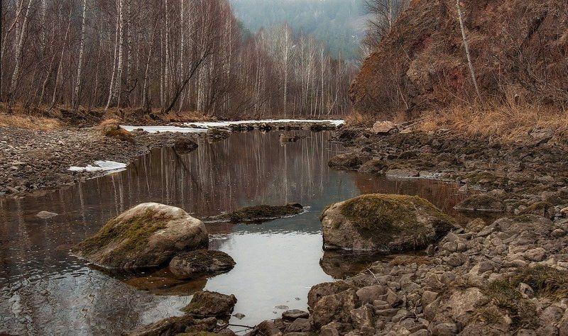 Весна на маленькой речке..photo preview