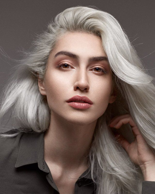 beauty, portrait, model, face, eyes, studio, lighting, headshot, makeup, Niloofarphoto preview