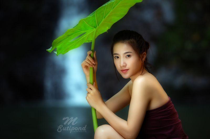 portrait,woman,spa,asia,laos,beautiful. lovelyphoto preview