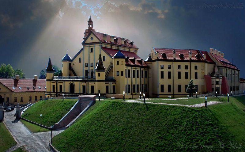 минск, беларусь, радзивиллы, несвиж, замок, дворцы Замок в ...«контре»photo preview