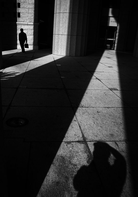 street , street photography , black and white light and shdowphoto preview