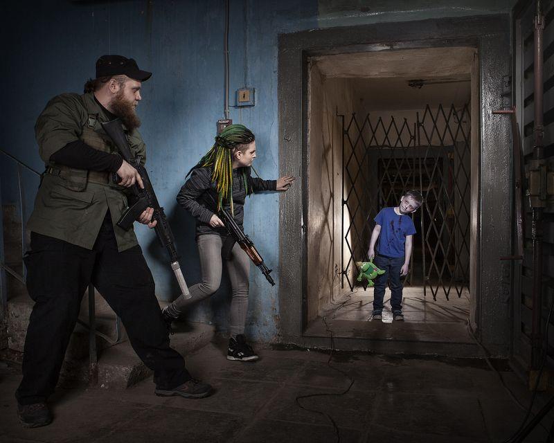 зомби ребенок бункер Из цикла \