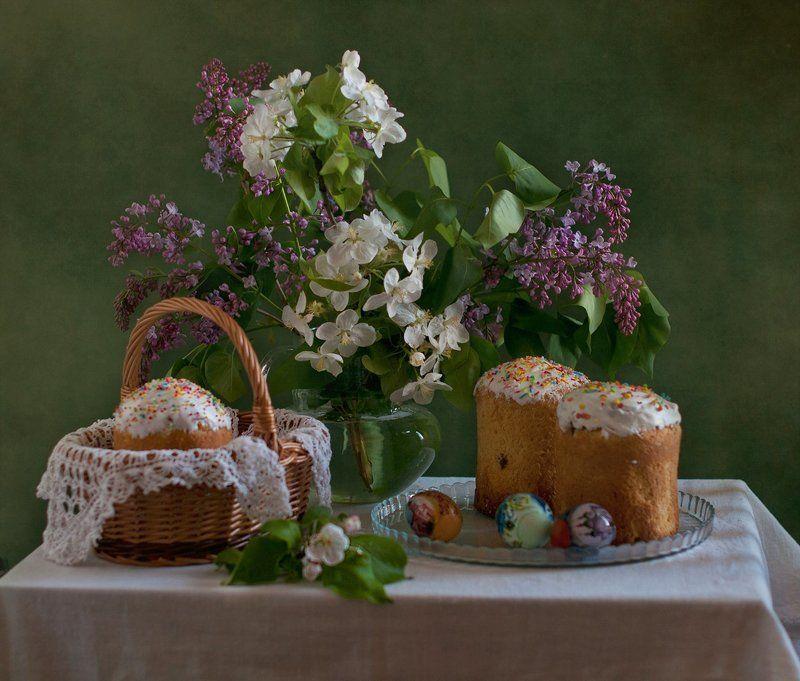 пасха, крашенки, весна Пасхальный...photo preview