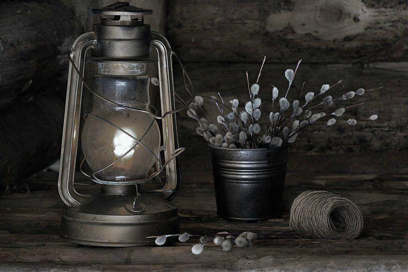 Старая лампа...photo preview
