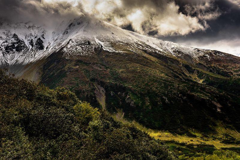 камчатка, горный массив, осень, горы Вачкажецphoto preview