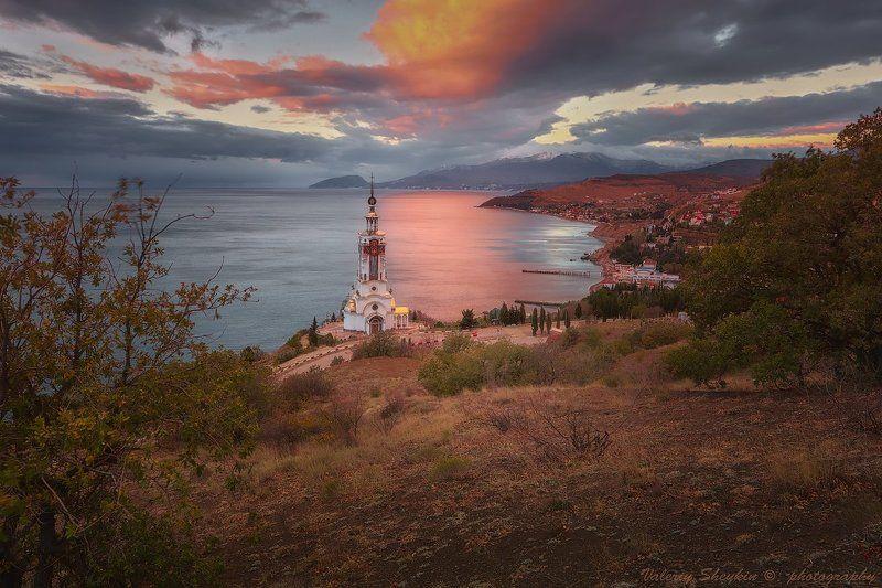 Закат в Малореченскомphoto preview