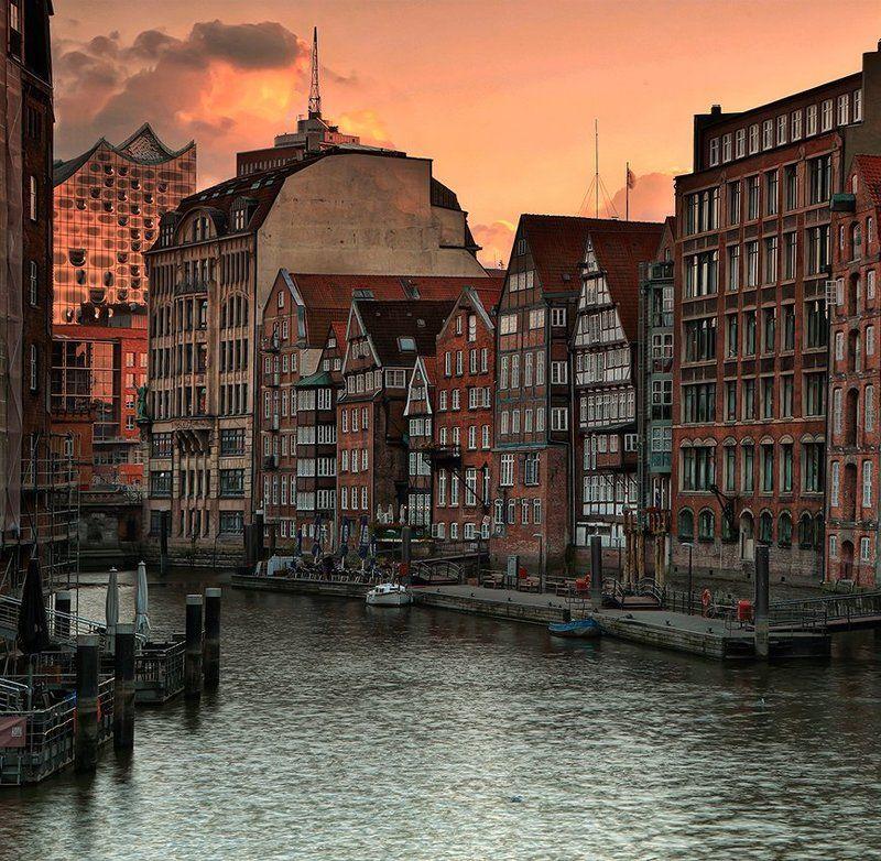 Гамбургские каналыphoto preview