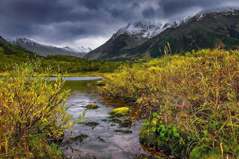 вачкажец, камчатка, озеро, осень Озеро Тахколочphoto preview