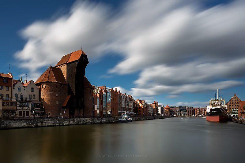 Gdansk,Poland,crane,river,Гданьск,Польша The Cranephoto preview