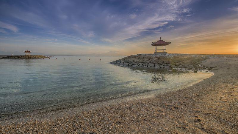 путешествие,Бали,рассвет,морской,пейзаж,Индонезия, Балийский рассвет.photo preview