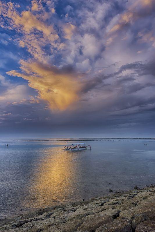 путешествие,Бали,рассвет,морской,пейзаж,Нуса,Дуа,Индонезия, Цвет, свет и рассвет...photo preview