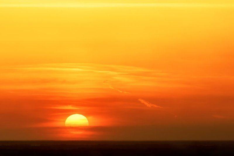 солнце, закат, алтай, sun, sunset, altai Просто закатphoto preview
