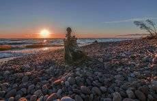 домик на берегу моря...