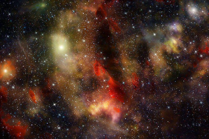 абстракция, abstraction Космическая фантазияphoto preview