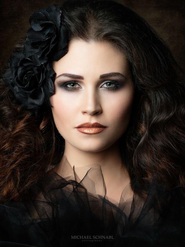 portrait, woman, long hair, fine art portrait, Theresaphoto preview